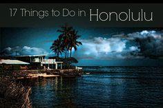 17 things you MUST do in Honolulu. @thelimericklane #Hawaii #Honolulu #travel #oahu #travelnoire