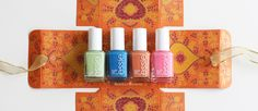 NAMASTE ☀︎ | Essie Resort LE 2016 | «going guru» | «nama-stay the night» | «taj-ma-haul» | «dehli dance» | #essieliebe | lackschwarz |