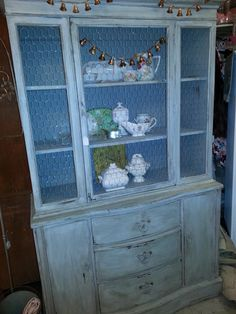 Repurposed China Cabinet on Pinterest | China Hutch Redo, Vintage ...