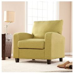 Southern Enterprises Kennedale Arm Chair ($315) ❤ liked on Polyvore featuring home, furniture, chairs, accent chairs, apple green, southern enterprises, woven furniture, woven chair and southern enterprises furniture