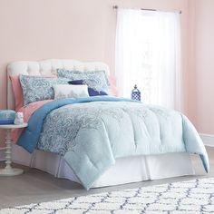 fa2a031aeee0 Anthology™ Kiran Reversible Comforter Set in White Grey   LuxuryBeddingAwesome