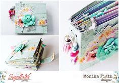 Anya-lánya és a csajok minialbum - punkrose.hu Mini Albums, Scrapbook, Scrapbooking, Extended Play, Mini Scrapbooks, Guest Books, Scrapbooks