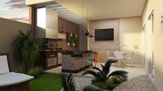 Projeto Casa Térrea 03 Suítes Arquitetura Moderna Condomínio Sumaré Arquiteto Caio Pelisson