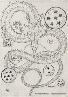 cool shenron sketch