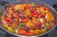 Chefkoch.de Rezept: Toskanischer Hähnchen - Auflauf