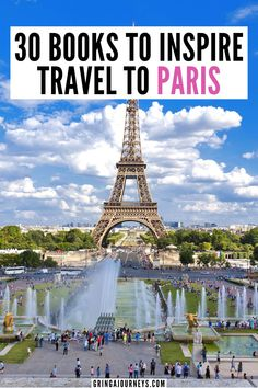 Here are 30 books to inspire travel to Paris, including classics like The Hunchback of Notre-Dame by Victor Hugo, The Ladies' Paradise by Émile Zola, and more.   the best books about paris   books to read before visiting paris   paris history books   historical fiction about paris   books about living in paris   classic books about paris   fiction books about paris Travel Articles, Travel Advice, Travel Quotes, Europe Travel Guide, France Travel, Travel Destinations, Best Travel Books, France Photography, Virtual Travel