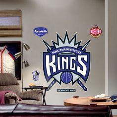 Fathead Sacramento Kings Logo Wall Graphic - 62-62011