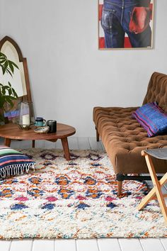 Magical Thinking Noor Shag Rug - Urban Outfitters
