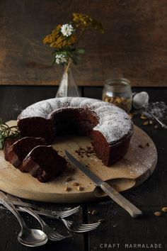Chocolate Cardamom Bundt Cake | Craft Marmalade