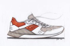 Sneaker sketches on Behance