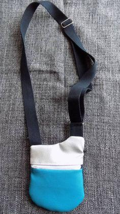 Sac Be-Bop mini cousu par Carine - patron mini sac à bandoulière Sacôtin