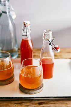 Diy Food, Hot Sauce Bottles, Preserves, Drinks, Cooking, Street, Kitchen, Juice, Drinking