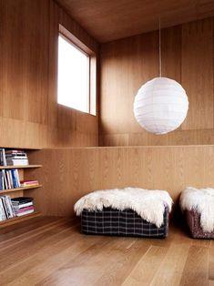 Villa Weinberg, Aarhus, Denmark by Mette and Martin Wienberg Mini Loft, Isamu Noguchi, Timber Ceiling, Paper Lampshade, Timber House, Aarhus, Scandinavian Interior, Stores, Interiores Design