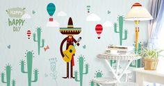 3D Green Plant 602 Wall Murals | AJ Wallpaper Kids Room Wallpaper, Paper Wallpaper, Self Adhesive Wallpaper, Custom Wallpaper, 3d Wall Murals, Traditional Wallpaper, Baseboards, Green Plants, Hot Air Balloon
