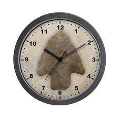 Arrowhead Wall Clock CafePress https://www.amazon.com/dp/B00B7JCSP8/ref=cm_sw_r_pi_dp_GmcyxbSBS6TT7