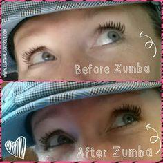 Sweat proof 3D Fiber Lash mascara - total game changer! www.earthalashesout.com  #fitnessmakeup #zumba #fiberlashmascara