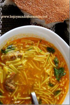 chorba algerienne, chorba, soupe pour ramadan