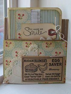 Paper bag pocket You Make Me Smile
