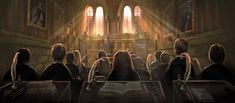 My Favourite Illustrations from Pottermore - Album on Imgur