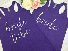 Bride Tribe, Bride Tribe Tank, Bridesmaid Tank Top, Bridesmaid Tanks, Bridal Party Tanks, Wifey Tank, Bachelorette Party