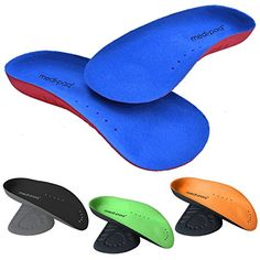 e89d3cd4828d Medipaq® ¾ Arch Aid Foot Support - Plantar Fasciitis Arches Pain Relief  Orthotic Insole (1x Pair - UK 3-7)