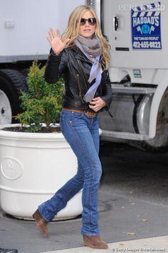 Jennifer sait comment affronter l'hiver.