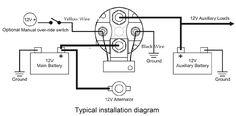 truck camper wiring diagram 12v battery