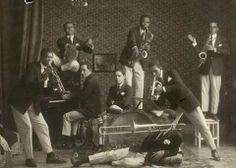 In 1922 a group of predominantly Afro-Brazilian musicians, the Oito Batutas, performed in nightclubs and cabarets in Paris over a six month period.