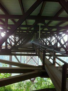 Bridge Walk under the New River Gorge Bridge.