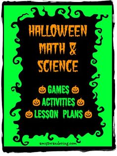 free halloween math science lesson plans activities online games frugal halloween party - Online Halloween Math Games