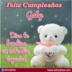 tu gracia me salvo Happy Birthday Wishes, Love You, Teddy Bear, Lily, Google, Celebration, Frozen, Snoopy, Rock