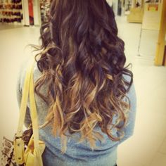 brown hair with peek a boo blonde - Google Search