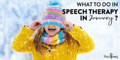 What to do in speech therapy in January? Here are some picture books, science activities, and Yeti-themed fun for speech class! #slp #sped