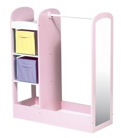 Dress-Up Storage Center complete with mirror and extra drawer space. GENIUS! | PLAYROOM | Pinterest | Drawers Storage and Spaces  sc 1 st  Pinterest & Dress-Up Storage Center complete with mirror and extra drawer space ...