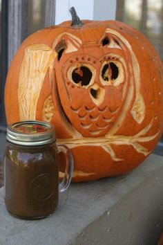 All-Natural Pumpkin Butter From Scratch: Homemade Pumpkin Butter using ...