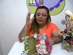 BONECA NANDA COM MODELADORES MEG ART'S