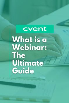 It's time to rethink your strategy and tools to meet the heightened expectations attendees have for virtual engagement. This ultimate guide to webinars will help you break down webinar basics as well as offer tips to improve your current webinar programs. Event Planning Tips, Improve Yourself, Meet, Events, Tools, Engagement, How To Plan, Instruments, Engagements