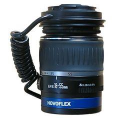 Novoflex EOS-Retro   (313 €) Anillo inversor para Canon EOS. El adaptador transmite toda la información a la cámara.