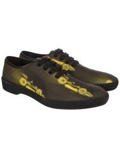 PRADA Prada Cars Print Lace-Up Shoes. #prada #shoes #699035