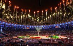 """""""Das waren wunderbare Spiele in der wunderbaren Stadt"""", rief IOC-Präsident..."""