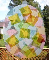 sun catcher preschool craft