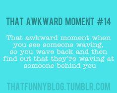 Awkward! haha