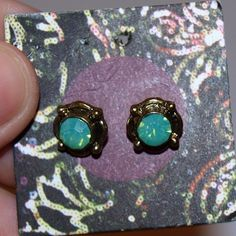 $7 Urban outfitters stone stud earrings Gorgeous! Urban Outfitters Jewelry Earrings