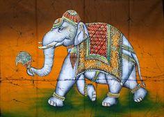 Indian Batik Paintings - Angelslover - The Entertainment Website