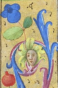 Book of Hours France, ca. 1480 MS M.6 fol. 40v http://ica.themorgan.org/manuscript/page/34/76831