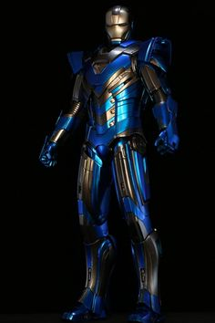 Iron man Mark XXX Blue Steel