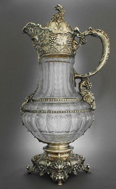 High quality Gorham jug with Bacchus Spout