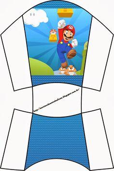 Super Mario Bros, Super Mario Birthday, Mario Birthday Party, Super Mario Party, Super Mario Brothers, Mario Y Luigi, Mario Hat, Nintendo Party, Yoshi