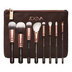 Zoeva-Rose Golden Luxury Set Vol.1 - Set de pinceaux Visage et Yeux