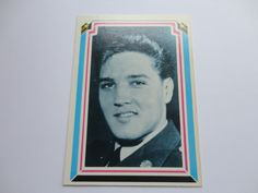 # 1 of 66 Elvis Presley Facts Card Collection
